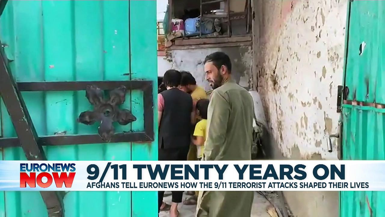 Afghans tell Euronews how the 9/11 attacks shaped their lives