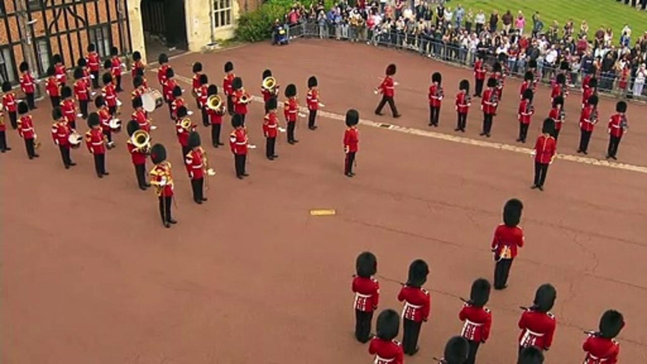 US national anthem played at Windsor Castle to mark 9/11