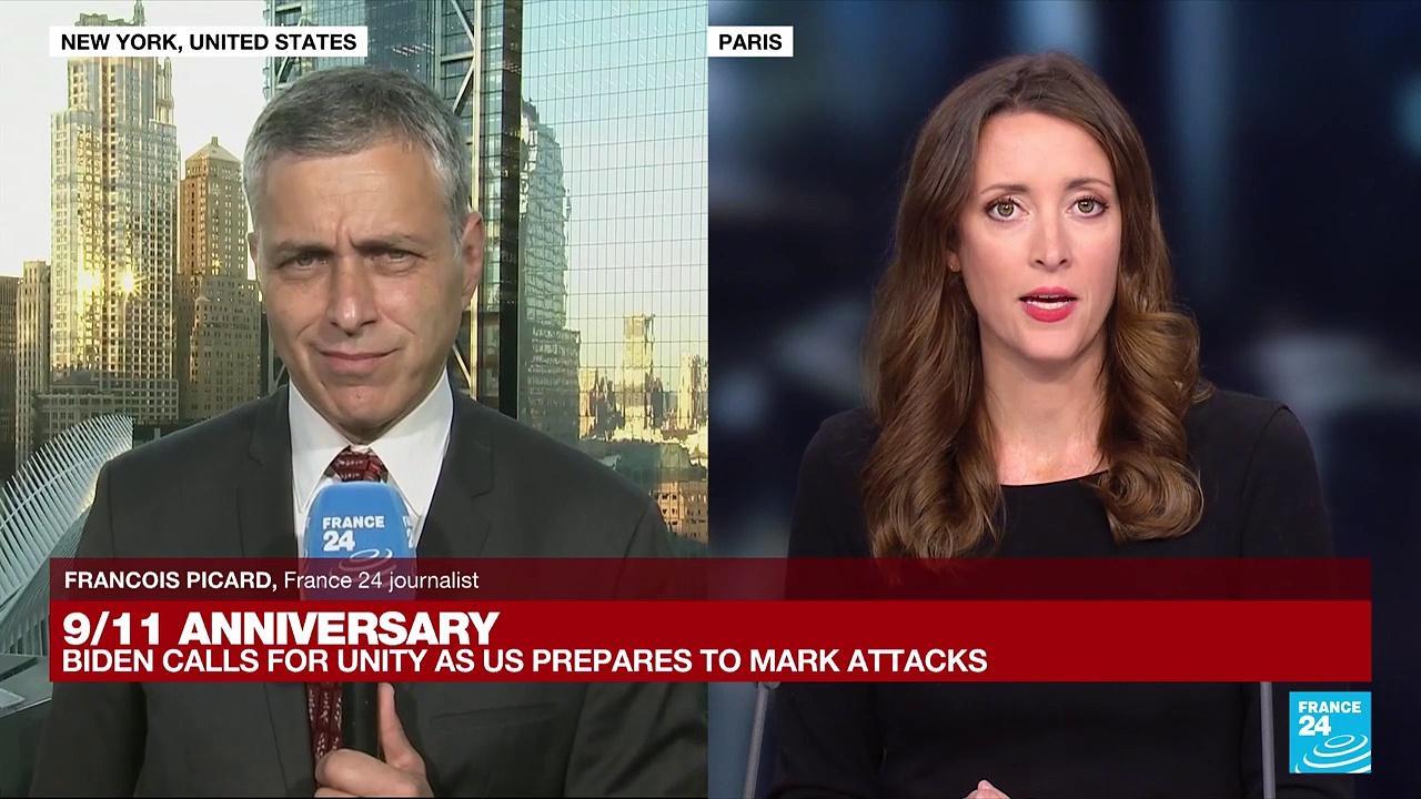 9/11 anniversary: Biden calls for unity as nation prepares to mark attacks