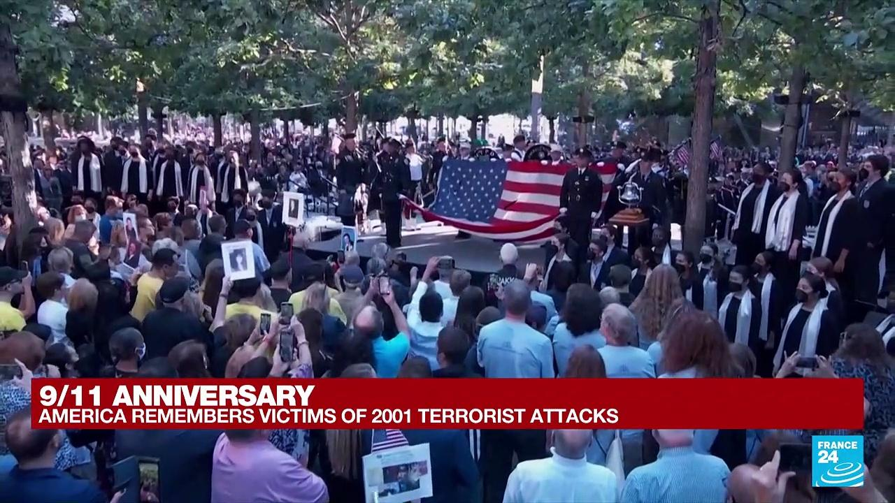 New York ceremony to mark 20th anniversary of 9/11 attacks begins
