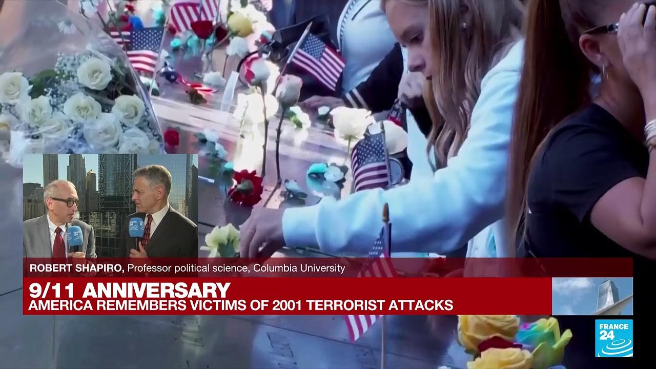 'A message of resilience': Americans reflect on 20th anniversary of 9/11