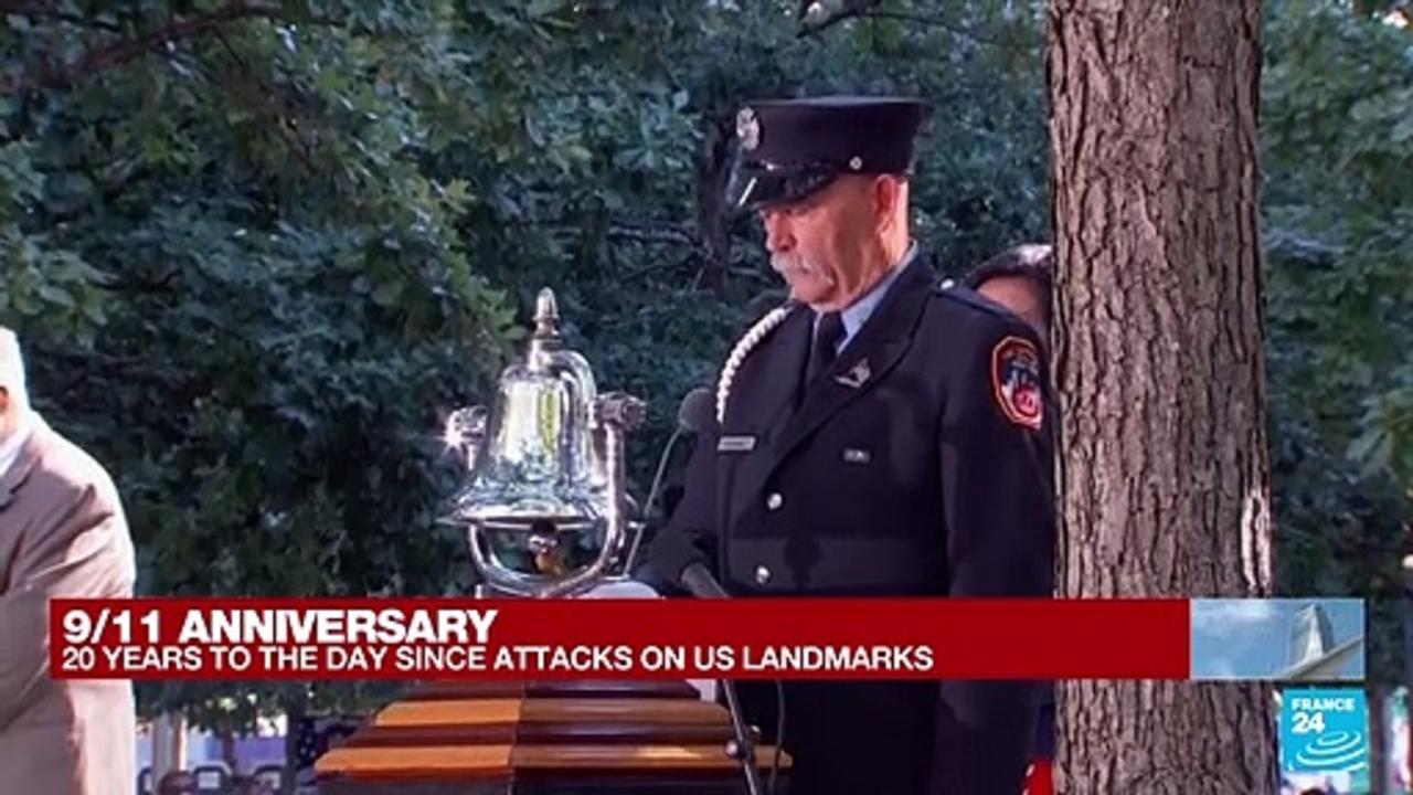 9/11 anniversary: Sixth moment of silence to mark North Tower fall