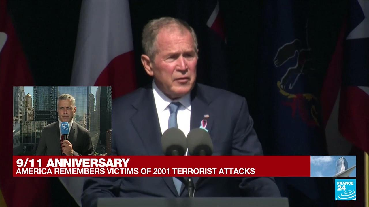 9/11 anniversary: 'Today we remember your loss, we share your sorrow', says former President Bush