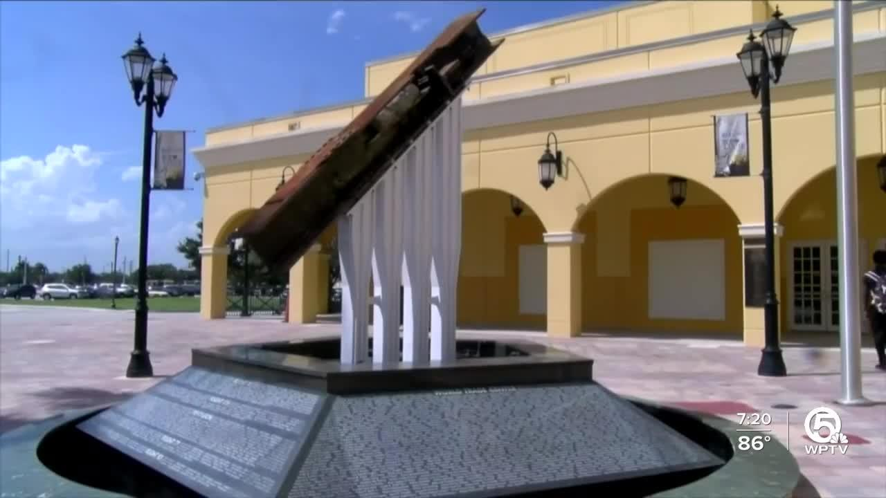 South Florida's 9/11 World Trade Center memorials