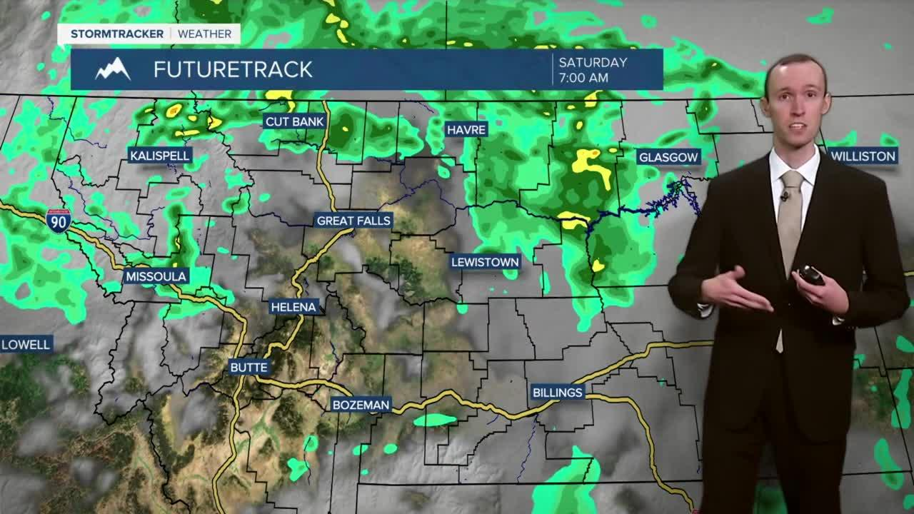 Improving Air Quality and Scattered Showers and Thunderstorms Around Friday Night and Saturday