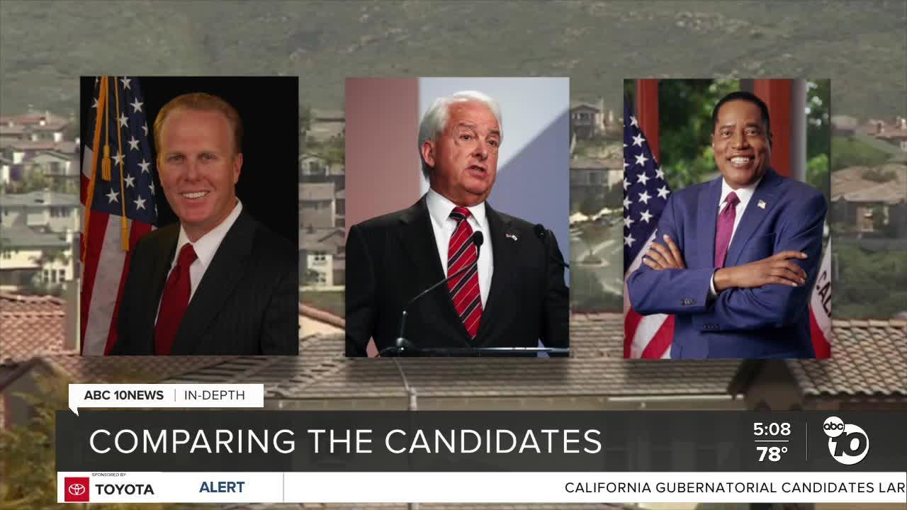 In-Depth: Comparing California recall candidates