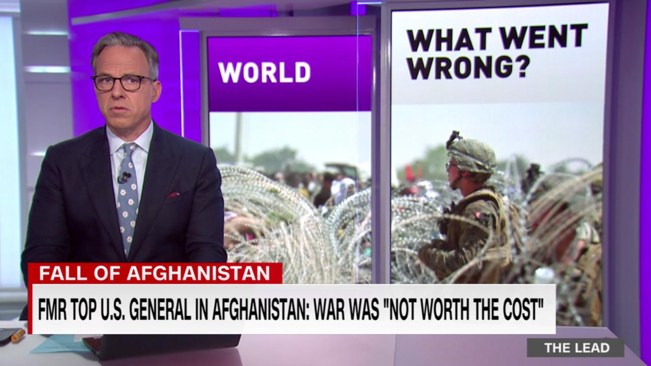 Former top U.S. General in Afghanistan: War was 'not worth the cost'