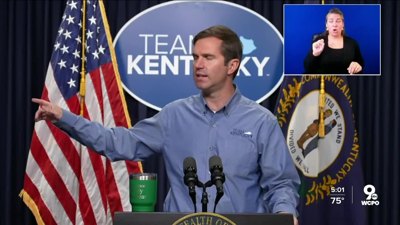 Beshear slams Kentucky lawmakers for scrapping mask mandate