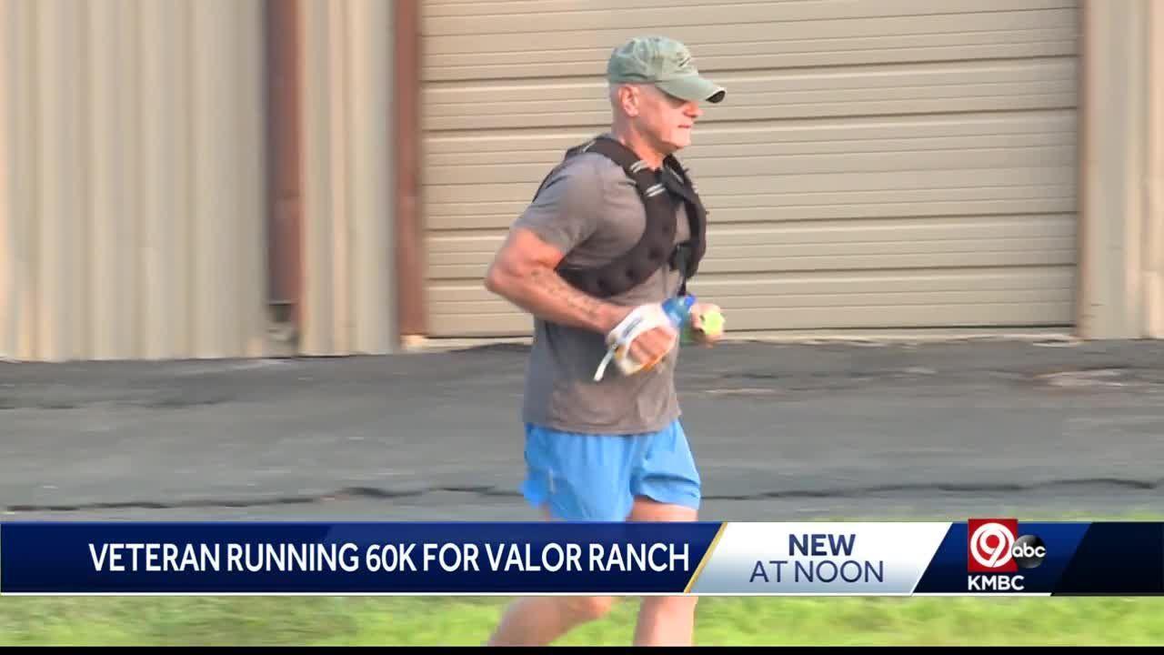 'Gift from God': Marine Veteran runs 60K to support transitioning Veterans