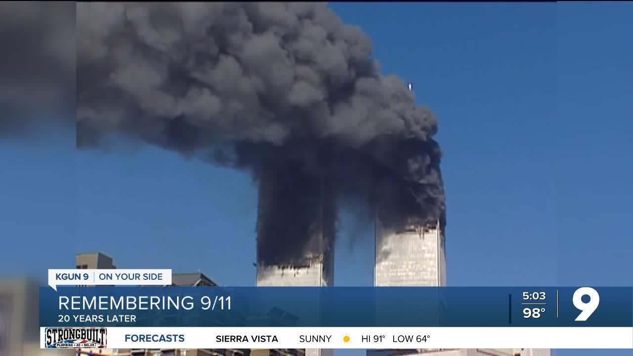 Former Marana Police officer, New York City Firefighter looks back on 9/11