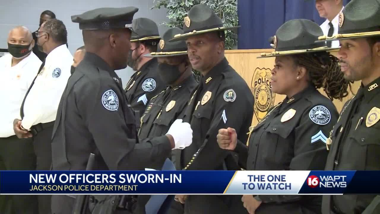 5 recruits graduate from JPD training academy