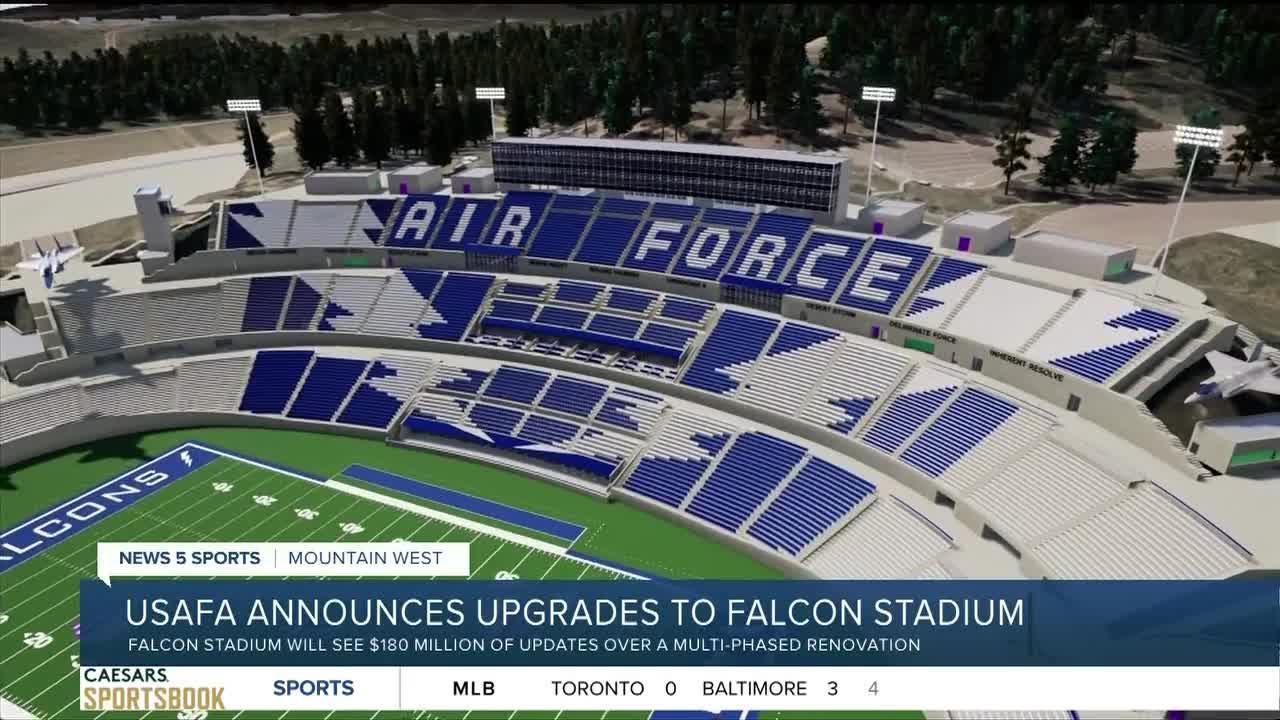 USAFA announces proposed renovations to Falcon Stadium