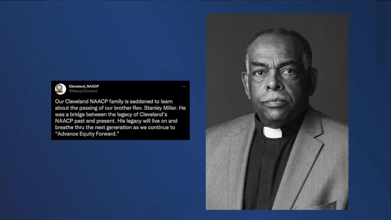 Former executive director of NAACP Cleveland branch Rev. Stanley Miller dies after short battle with cancer