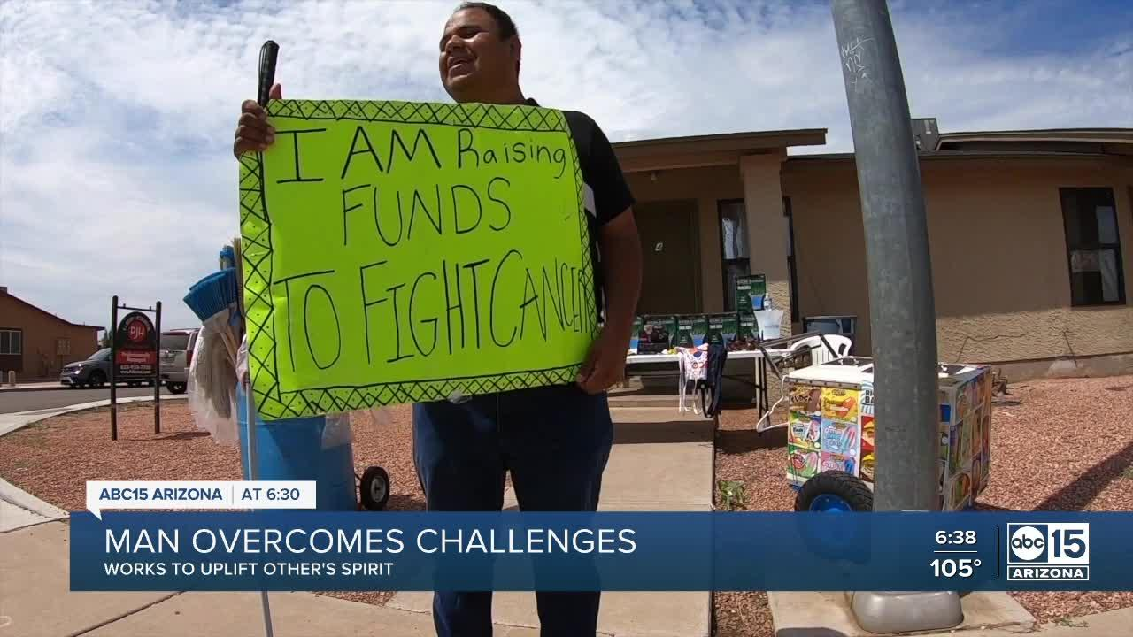 Street vendor overcomes challenges while helping uplift others' spirit