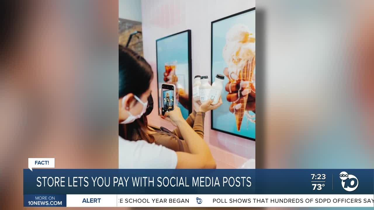 Fact or Fiction: Paying with social media posts