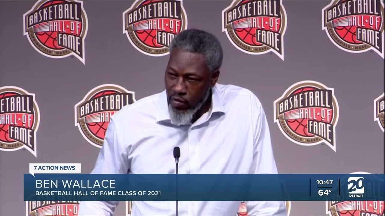 Ben Wallace makes history as first undrafted player to enter Basketball Hall of Fame