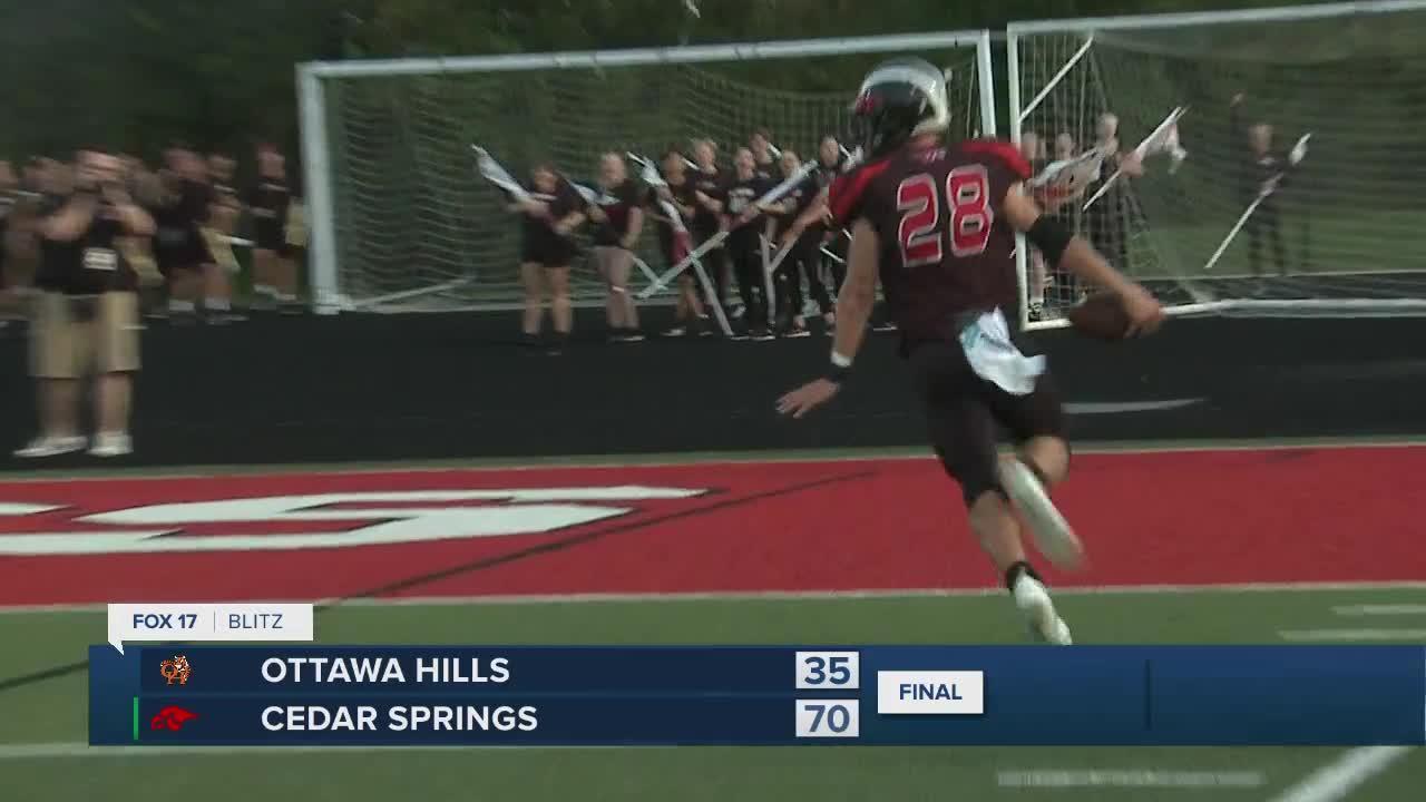 Ottawa Hills vs Cedar Springs