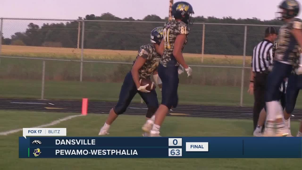 Dansville vs Pewamo-Westphalia