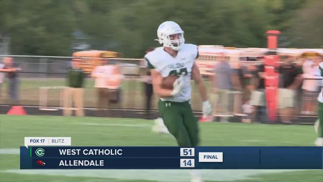 West Catholic vs. Allendale