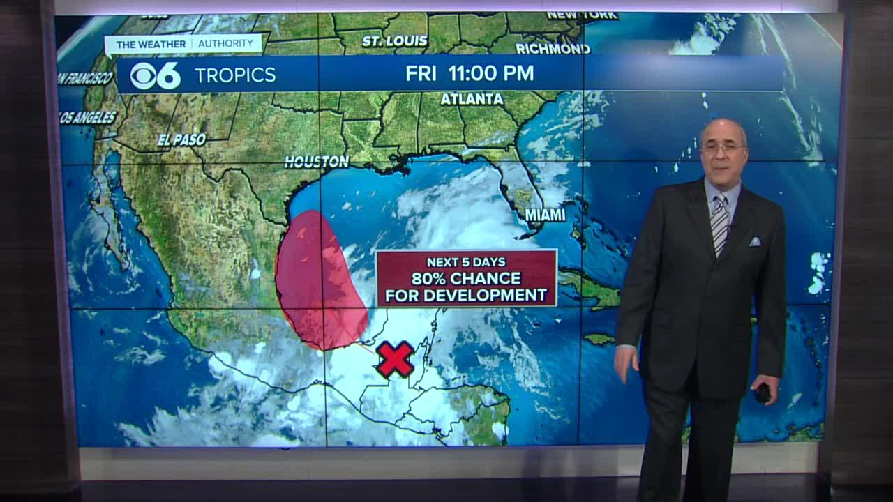 Mike's Friday Night Weather
