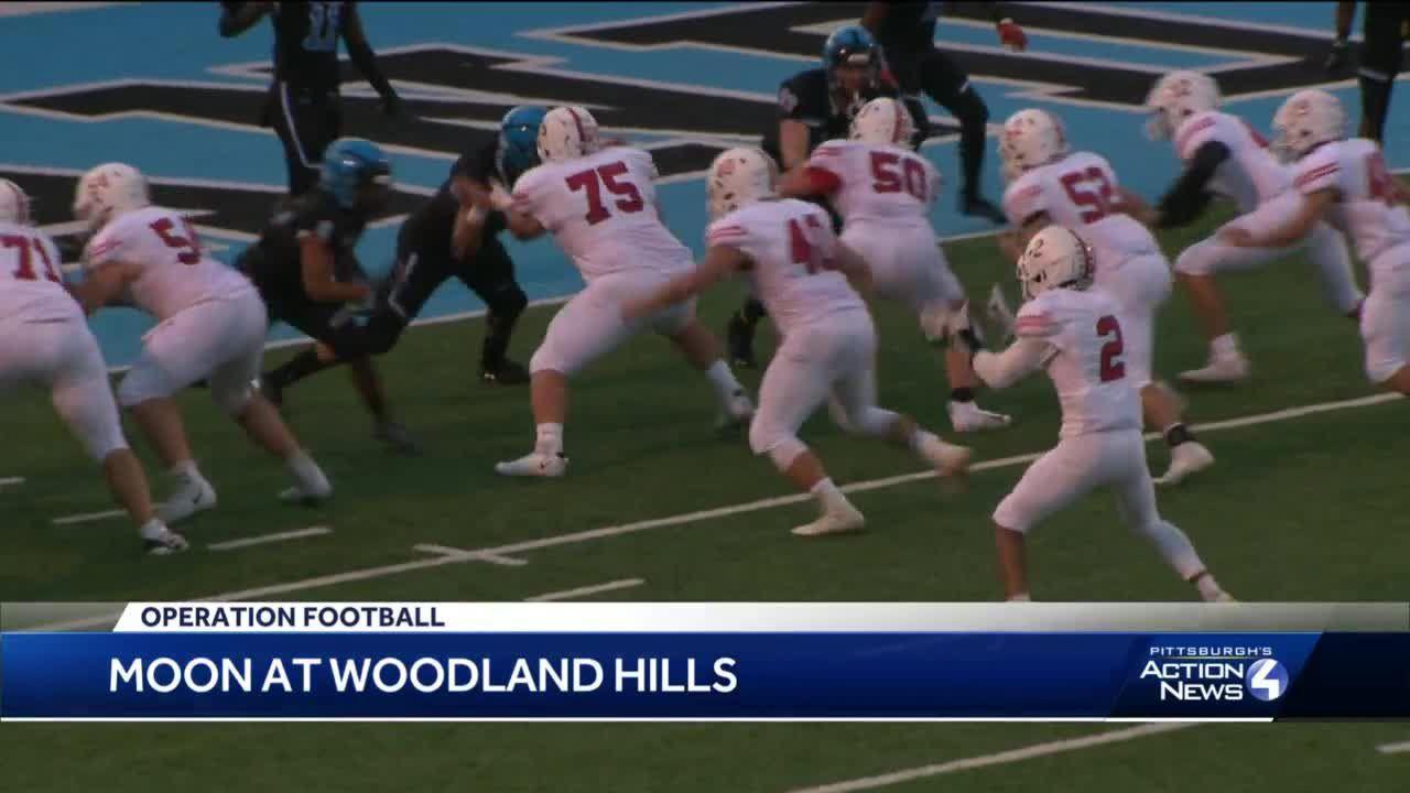 Moon beats Woodland Hills