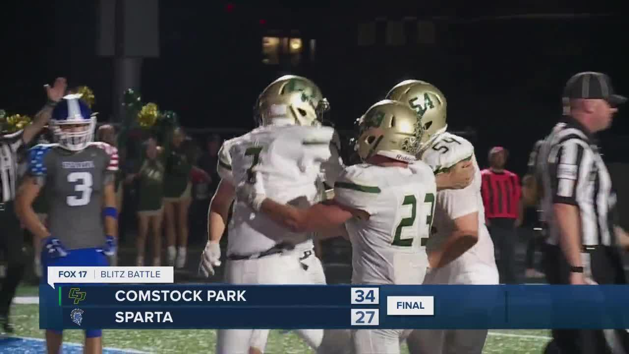 Blitz Battle: Comstock Park vs. Sparta