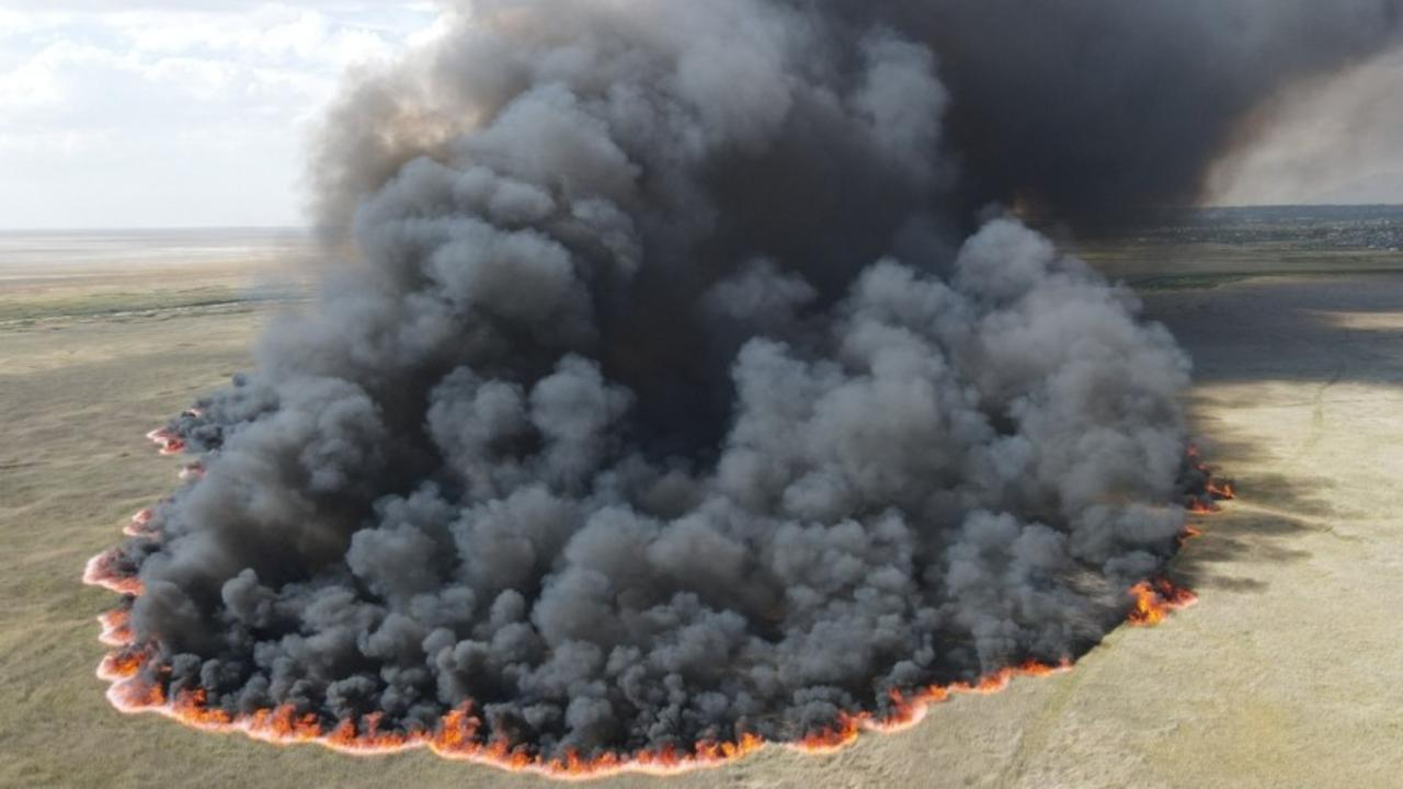 300-acre Davis County wildfire causes power outages