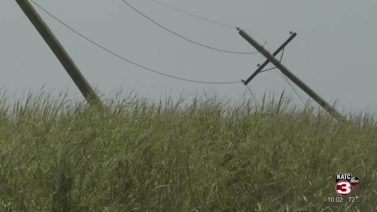 LUS Helping Restore Power in Houma