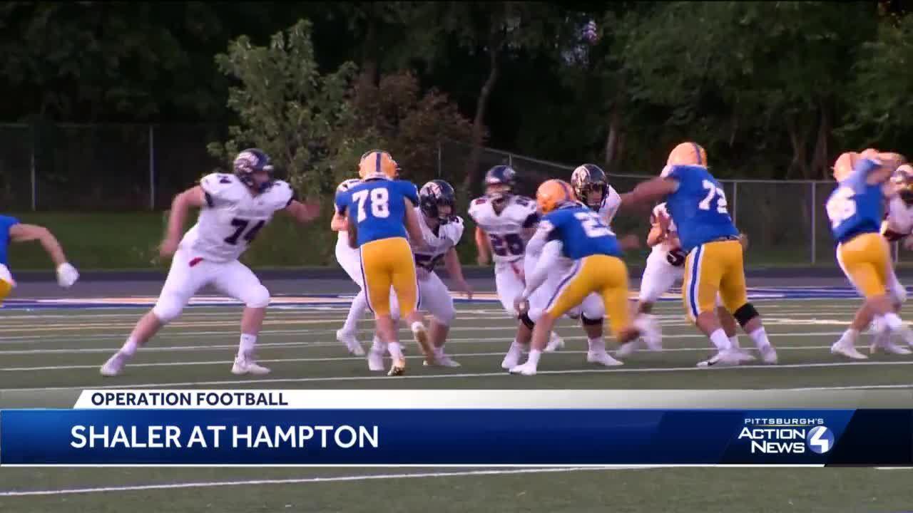Hampton beats Shaler