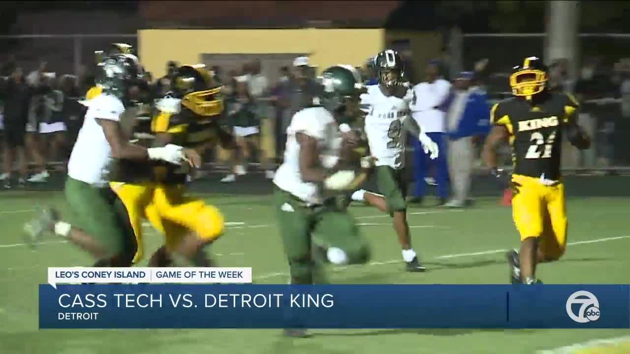 Detroit King beats Cass Tech in WXYZ Game of the Week
