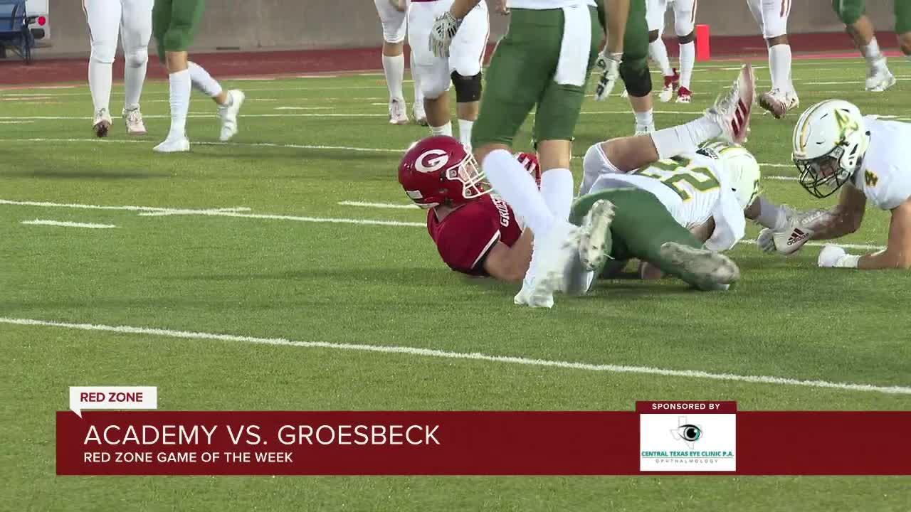 Game of the week: Academy vs Groesbeck