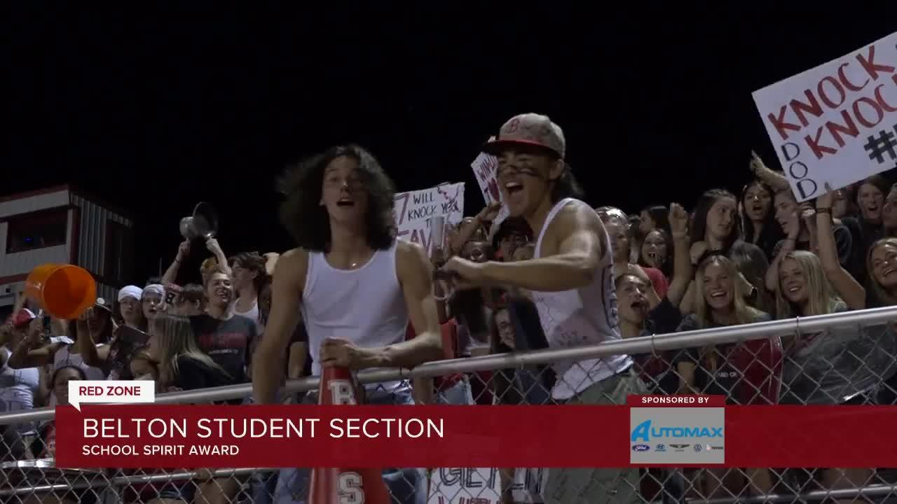 School Spirit: Belton Student Section