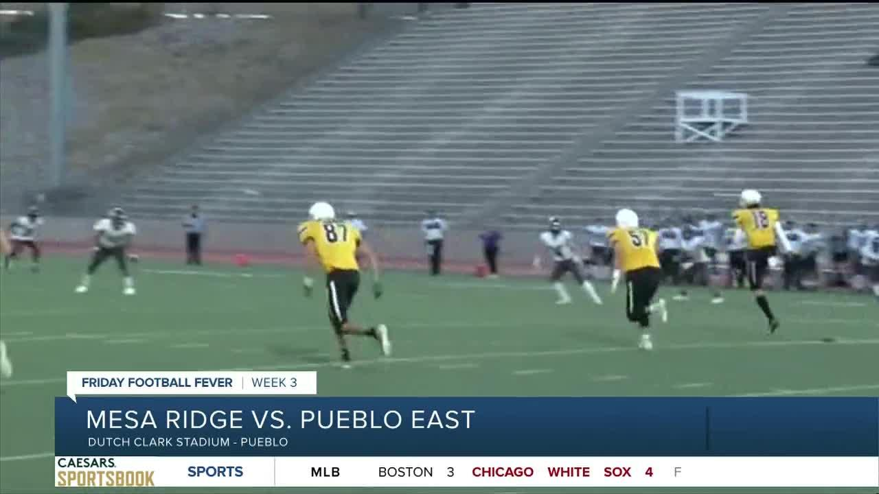 Friday Football Fever: Mesa Ridge vs. Pueblo East