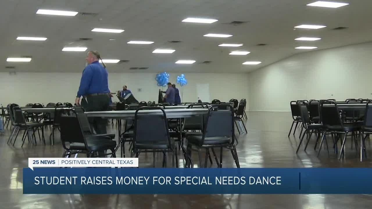 Central Texas student raises money for special needs dance