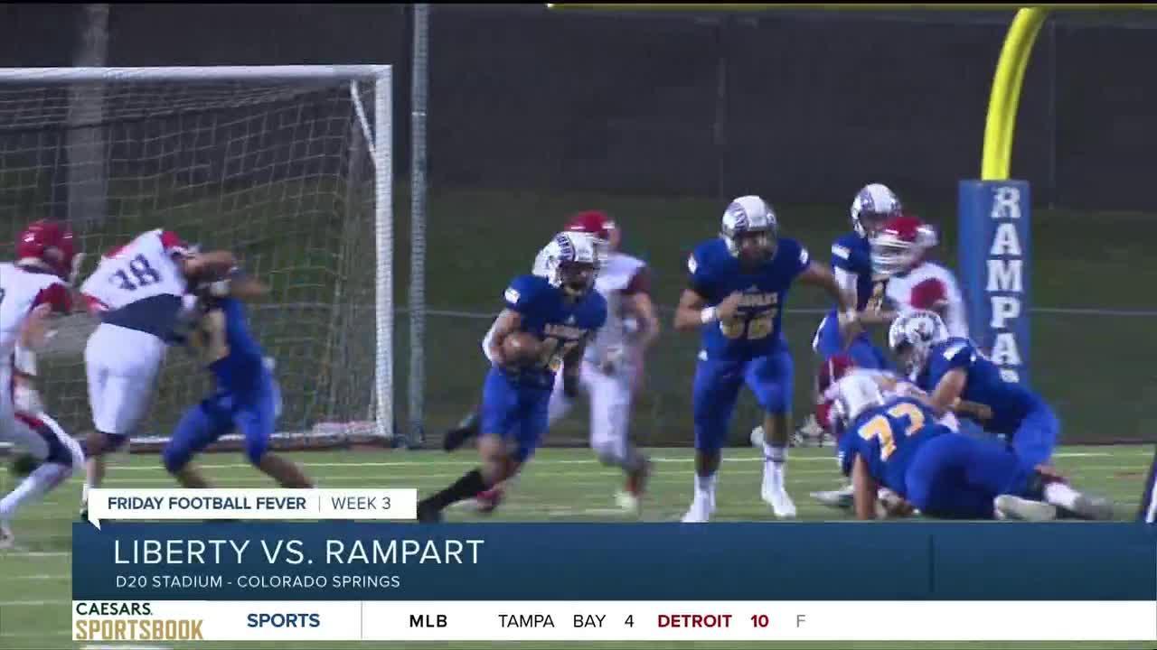 Friday Football Fever: Liberty vs. Rampart