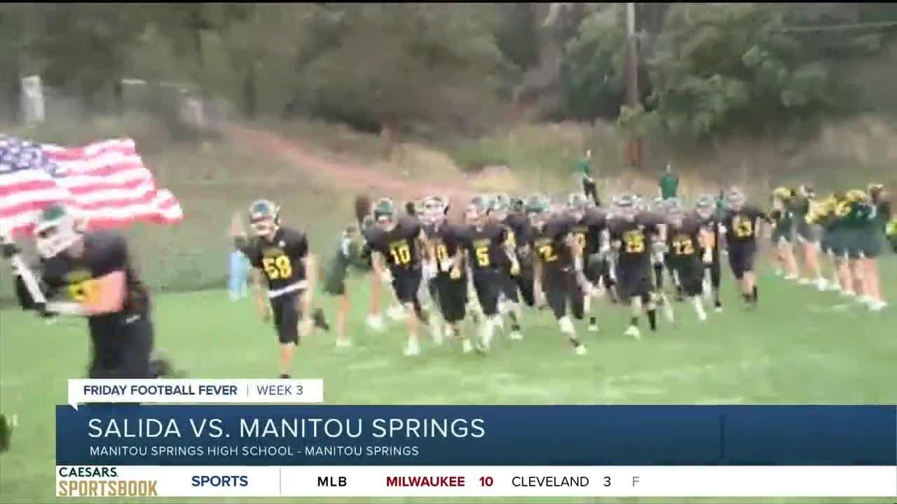Friday Football Fever: Salida vs. Manitou Springs