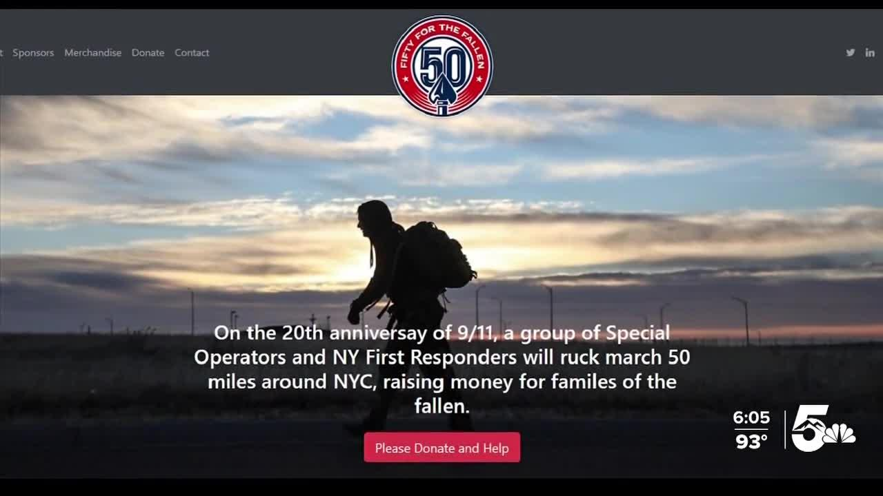 Soldiers ruck march 50 miles in New York City