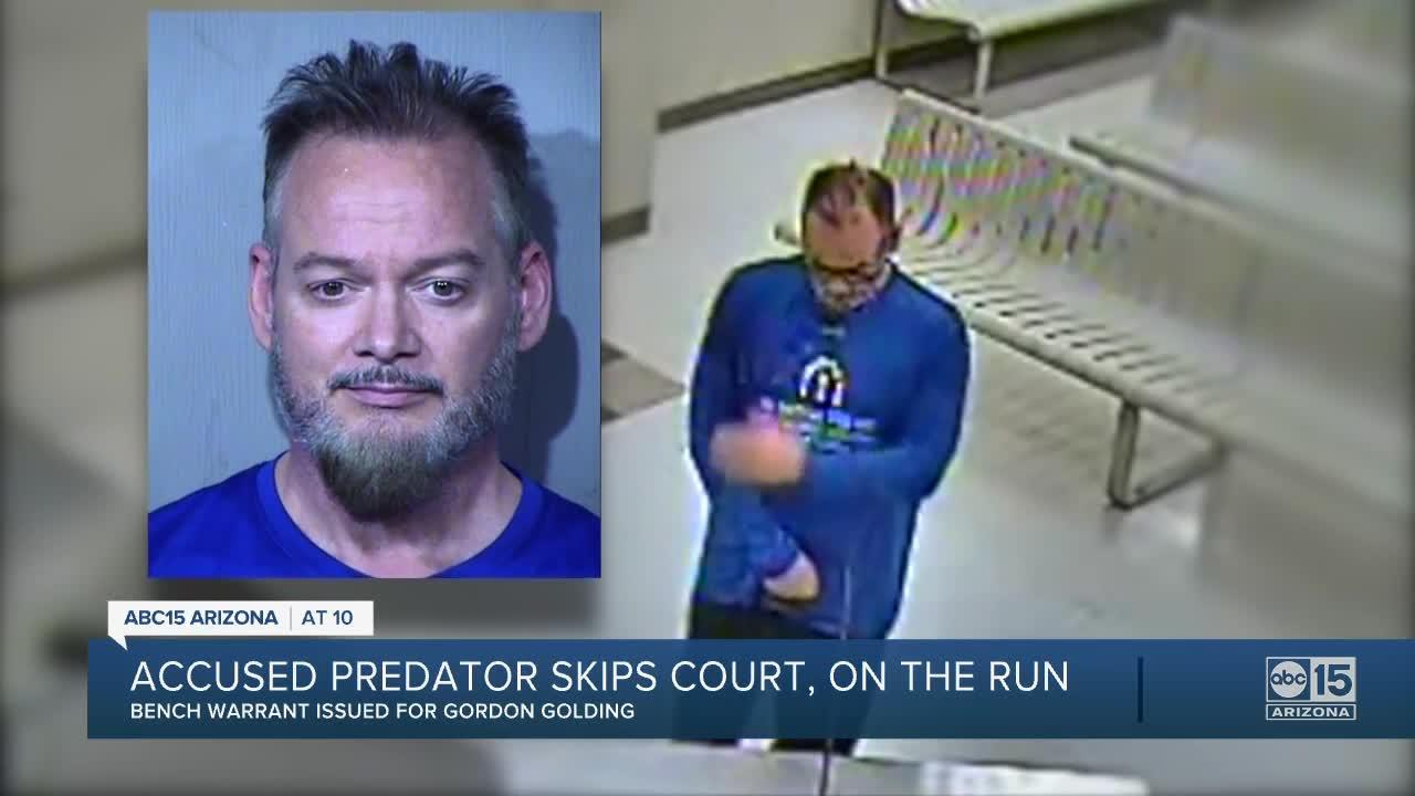 Warrant issued for accused serial predator after missed court hearing in Phoenix