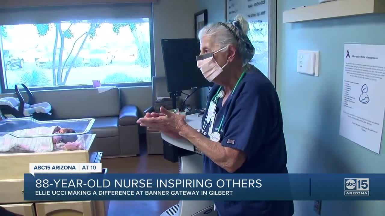 88-year-old Valley nurse says retiring is out of the question