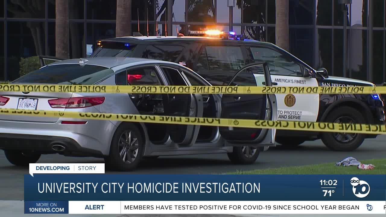 San Diego Police Investigate homicide in University City