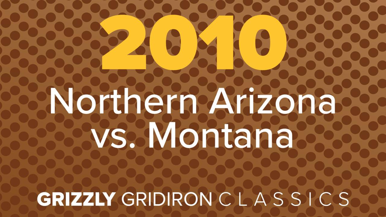vs. Northern Arizona 2010