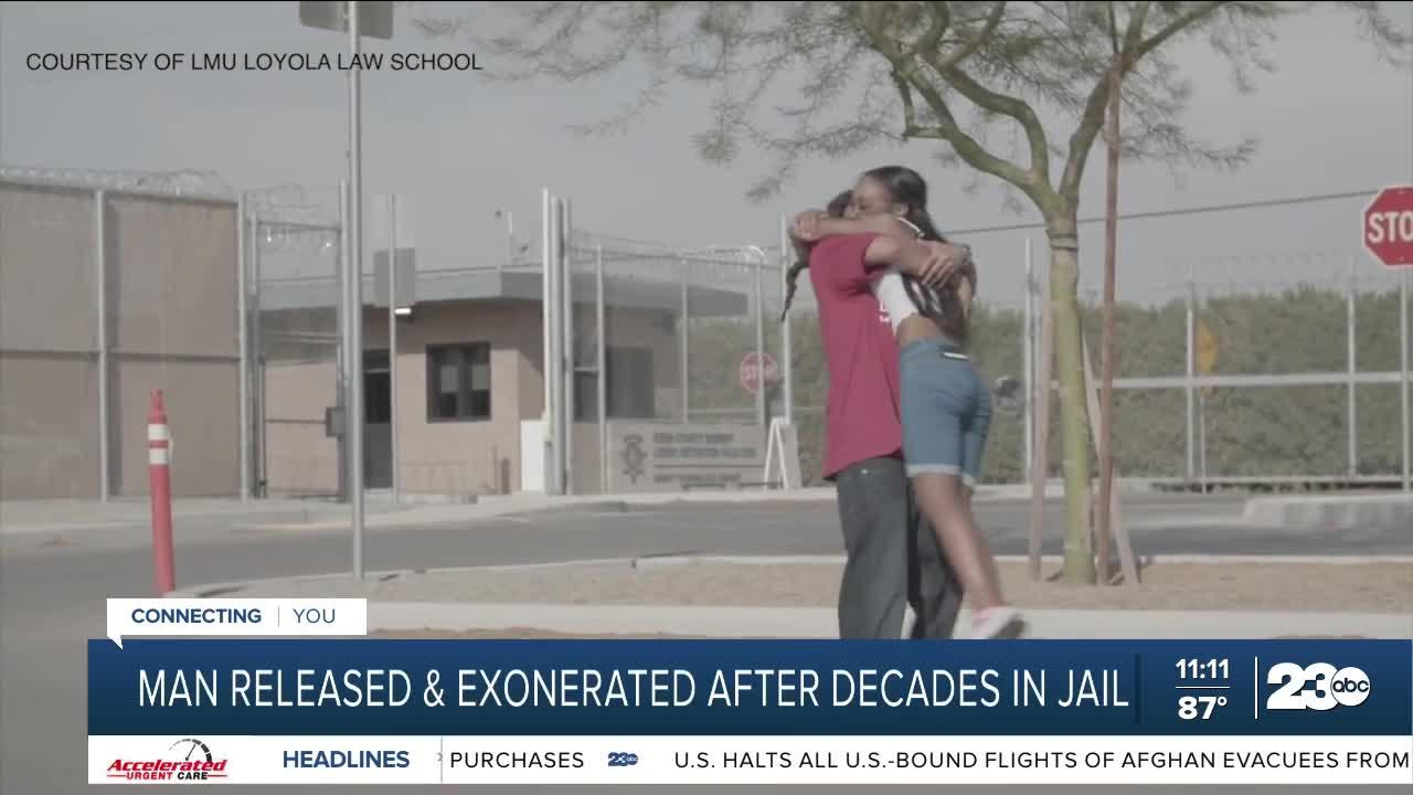Bakersfield man released from prison 21 years after being wrongfully convicted