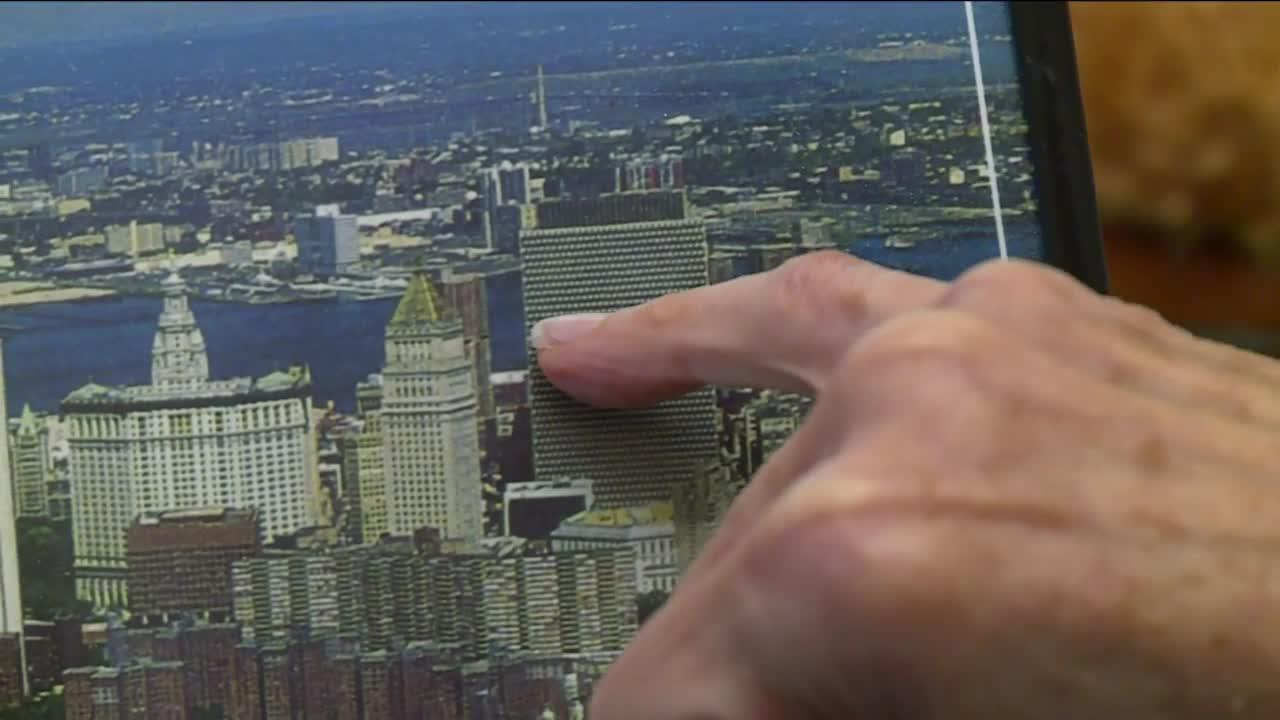 Her former office had a bird's eye view of the 9/11 attacks in NYC