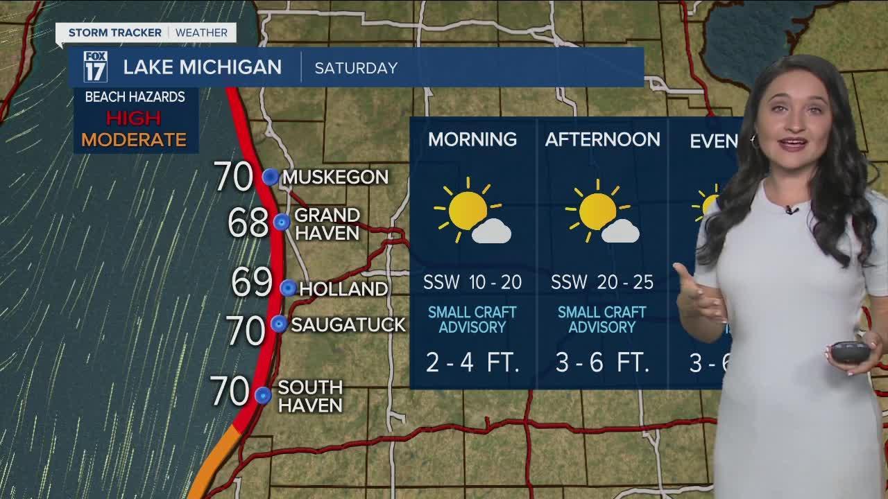 Lake Michigan Forecast - Saturday, Sept. 11th