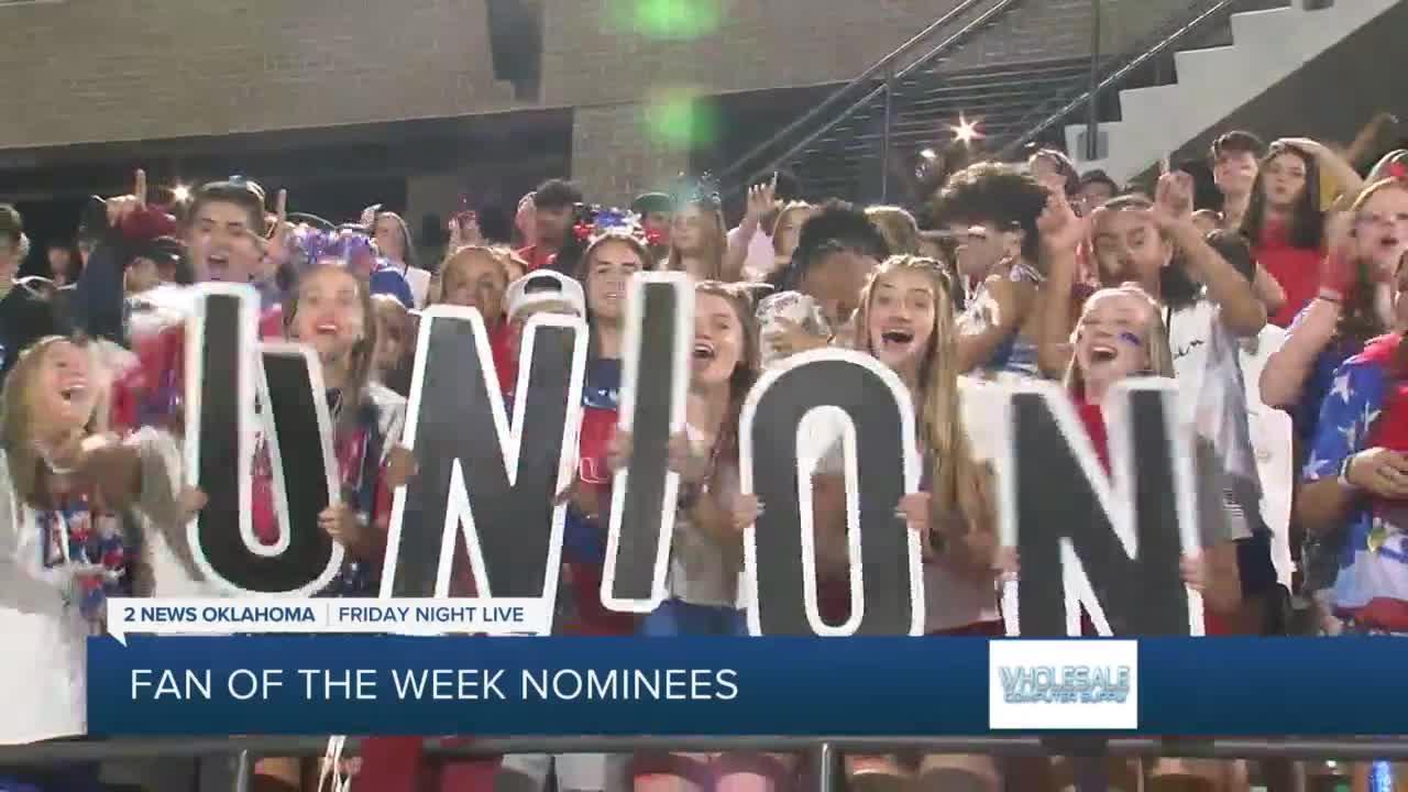 Week 2 Fan of the Week nominees