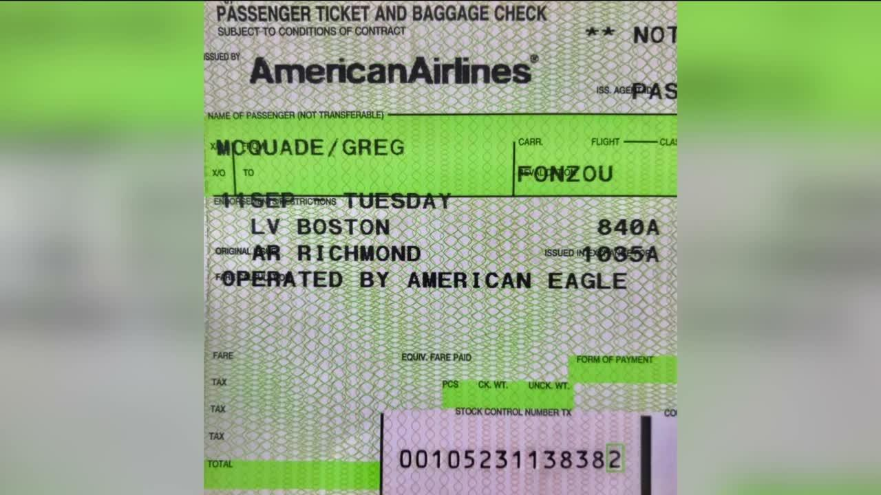 Remembering 9/11: Greg McQuade was in the same terminal as 9/11 terrorists