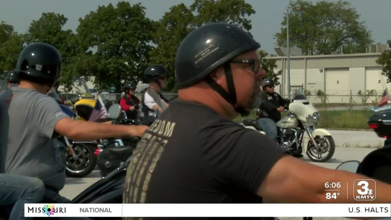 Patriot Guard Riders say goodbye to Cpl. Daegan Page in stunning show of respect