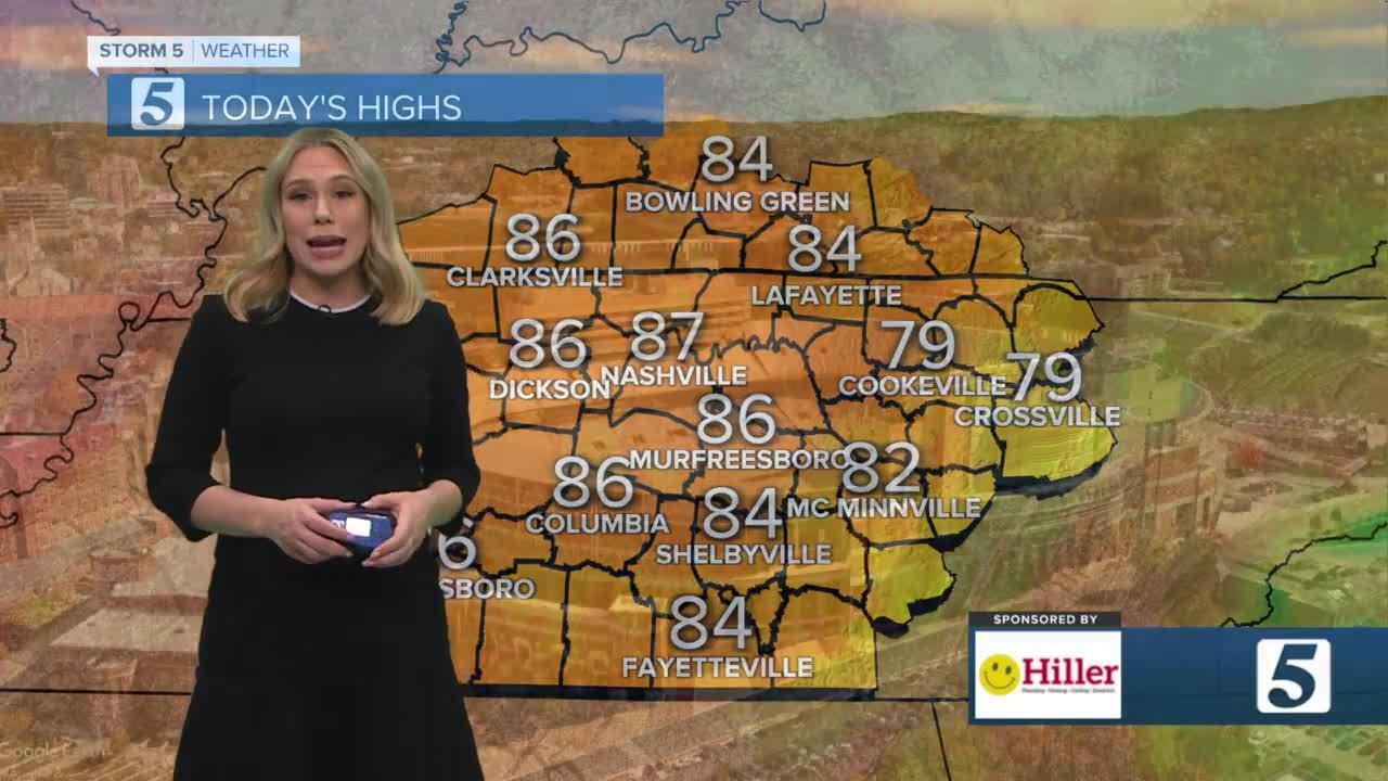 Heather's morning forecast: Saturday, September 11, 2021