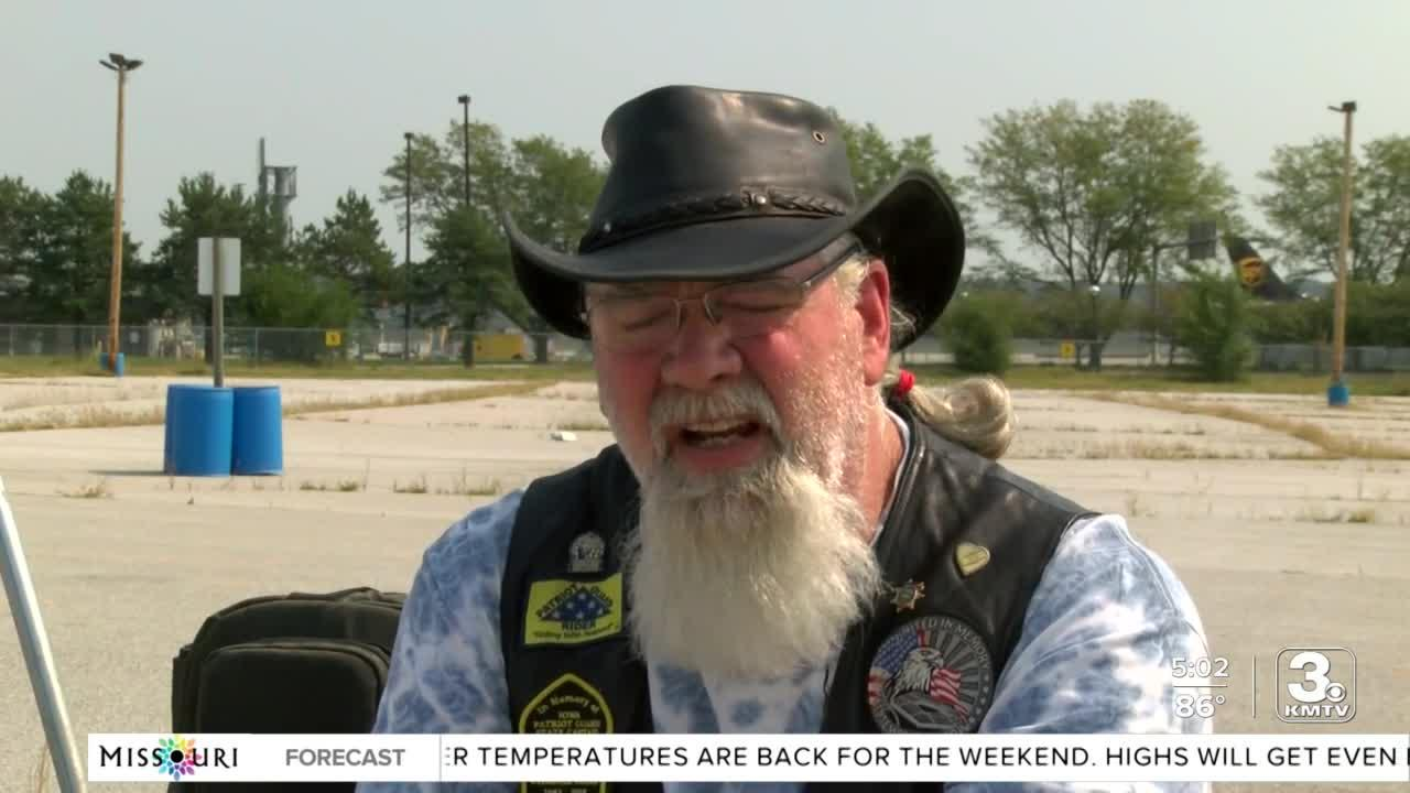 Patriot Guard Riders say goodbye to Cpl. Page