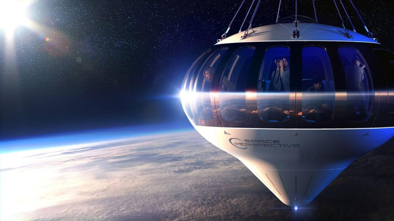 This balloon could take you to space, if you've got $125,000 to spare